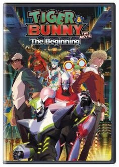 Tiger & Bunny the Movie: The Beginning DVD (Hyb)  #RightStuf2013