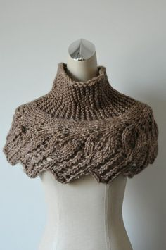 I need someone who can knit to make me this as a gift! It looks soooo cute and cozy! Please!