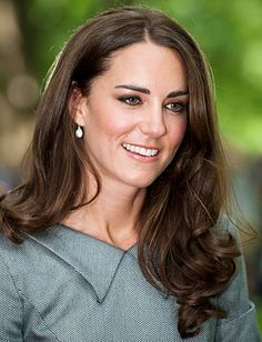 Catherine, Duchess of Cambridge: Her Tour Hairstyles!  LONG WITH LOOSE CURLS    Middleton's gave her face-framing layers a slight curl on her visit to Ottawa.