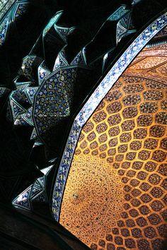 ♥ Sheykh Lotfollah Mosque, Isfahan, IRAN