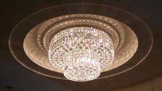 Crystal ceiling lamp Luchiante.com