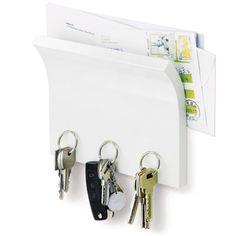 Magnethylle for nøkler og post