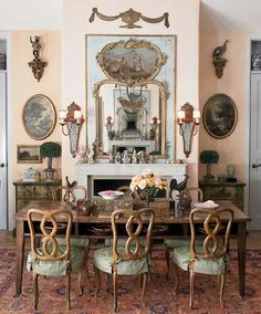 French wallpaper companies french wallpaper murals french country wall decor for dining room french wall panels for sale Decor, Country Dining Rooms, Country Decor, Mediterranean Style Homes, Country Cottage Decor, Trumeau Mirror, Country Wall Decor, French Provincial Furniture, French Country Wall Decor