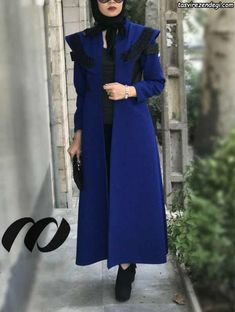 Abaya Fashion, Muslim Fashion, Fashion Dresses, Abaya Mode, Hijab Dress Party, Hijab Stile, Mode Mantel, Iranian Women Fashion, Sleeves Designs For Dresses