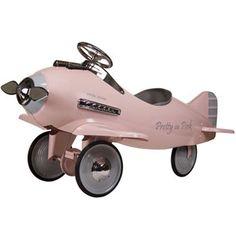 Pretty in Pink pedal plane