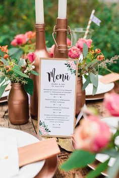 Copper Boho Love – casual wedding inspirations - Home Page Wedding Tags, Diy Wedding Flowers, Wedding Blog, Wedding Events, Wedding Decor, Wedding Ideas, Copper Wedding, Casual Wedding, Wedding Save The Dates