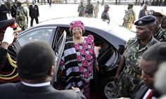 "Malawi's Joyce Banda puts women's rights at centre of new presidency -- ""You ask how I feel to be the first female president in southern Africa?"" she said in an interview. ""It's heavy for me. Heavy in the sense that I feel that I'm carrying this heavy load on behalf of all women. If I fail, I will have failed all the women of the region. But for me to succeed, they all must rally around."""
