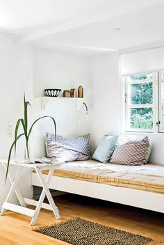 Recamier: know what it is and how to use it in decoration with 60 ideas - Home Fashion Trend Interior Inspiration, Room Inspiration, Living Room Decor, Bedroom Decor, Dining Room, Gravity Home, Types Of Sofas, Decorating On A Budget, Hygge