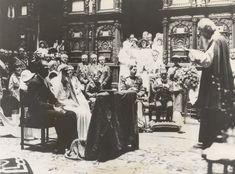 Princess Ileana of Romania Gallery / International Newsreel Photo: Wedding Ceremony 1930s Wedding, Wedding Dj, Wedding Bridesmaids, Wedding Shot, Wedding Ceremony, Bridesmaid Dresses, Wedding Dresses, Royal Brides, Royal Weddings