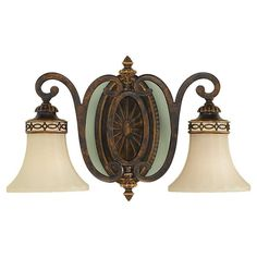 Murray Feiss VS11202-WAL Drawing Room Bathroom Light In Walnut #Traditional