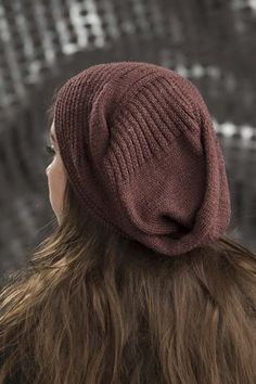 Envelope Hat - - knit.wear (Free Pattern! An interesting construction, too...)