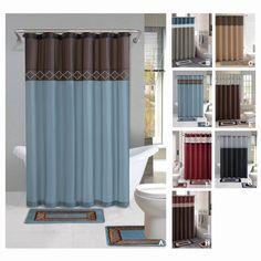 bathroom shower curtain set wardloghome throughout bathroom curtains