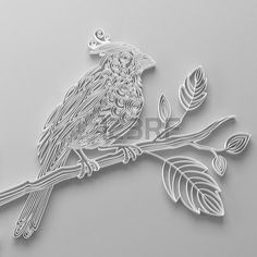Quilling white