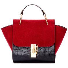 $16.52 Модные Сращивание и цвет блока дизайн сумка для женщин