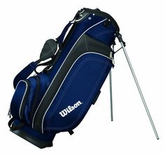 Wilson Profile Lite Carry Golf Bag (Navy Blue) by Wilson. $78.27. Extremely lightweight, will make carrying your clubs 18 holes seem like a walk in the park. Save 13% Off!