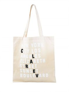 0d67fb171b Clare Vivier, Cotton Bag, Canvas Tote Bags, Baggage, Kissing, Carry On