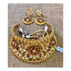 Kundan Jewellery Set, Jewelry, Chokers, Sparkles, Bracelets, Gold, India, Instagram, Fashion