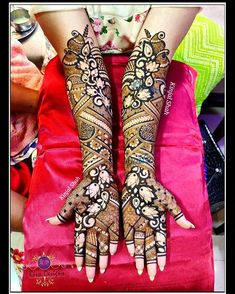 For mehndi order bookings and classes contact 09833887817 Round Mehndi Design, Legs Mehndi Design, Latest Bridal Mehndi Designs, Full Hand Mehndi Designs, Stylish Mehndi Designs, Mehndi Designs 2018, Mehndi Designs For Beginners, Mehndi Design Photos, Wedding Mehndi Designs
