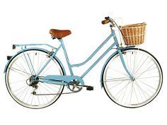 Light blue vintage bike