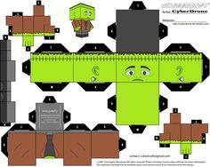 Cubee - Frankenstein by CyberDrone.deviantart.com on @deviantART
