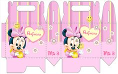 Baby Minnie Mouse Box Favors