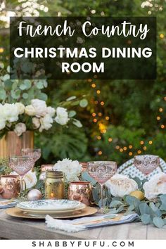 french Christmas | rustic Christmas for the kitchen | country living inspired |  french farmhouses | front porches| joanna gaines farmhouse ideas Farmhouse Christmas decor ideas, both modern and traditional ideas to decorate your home and nail the rustic and elegant french xmas!