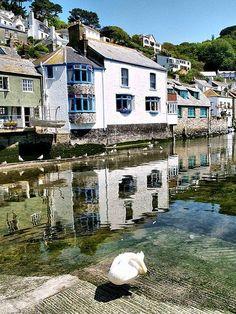 Polperro Slipway - Cornwall, England