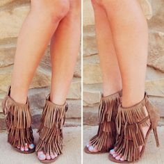 I got some really cute taupe booted like this and I need a perfect outfit for them.