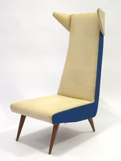 Anonymous; Wing Chair, 1950s.