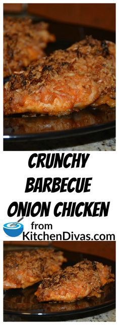This chicken recipe is so easy and totally delicious! You can use your favorite barbecue sauce. Totally yummy. You have to try it.