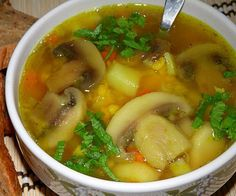 New soup recipes healthy easy 27 ideas Healthy Soup Recipes, Cooking Recipes, Curry Recipes, Russian Recipes, Seafood Dishes, Tasty Dishes, Soups And Stews, Easy Meals, Food And Drink