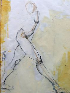 Jylian Gustlin. <3 abstract figurative forms.