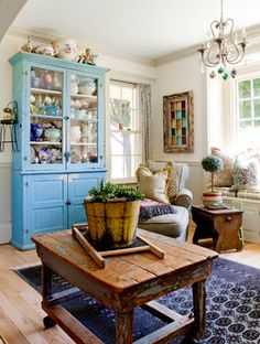 Charming Home Tour ~ Color in Upstate New York - Town & Country Living