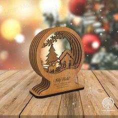 Um presépio diferente para dar um novo look na sua casa durante a época natalicia. Madeira ecologicamente processada