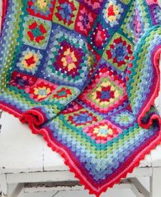 Say hello to color with the Color Burst Easy Crochet Pattern.