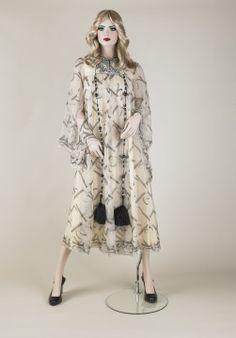 Evening dress, John Bates, 1972