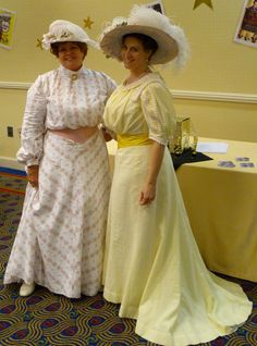 With Val L. and Jennifer R. Indiana, Historical Clothing, Dress Outfits, Hair Makeup, Sari, Victorian Dresses, Cosplay, Gowns, Costumes