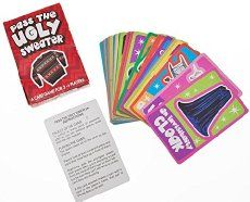 Fun Express - Pass The Ugly Sweater Card Game for Christmas - Toys - Games - Card Games - Christmas - 12 Pieces Fun Christmas Party Games, Gag Gifts Christmas, Christmas Fun, Christmas Parties, Santa Gifts, Christmas Decorations, Pen And Paper Games, Fun Express, Unique Cards