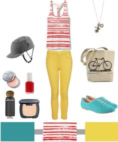 I want everything for this outfit. Love the pants, love the shoes, love the tank!