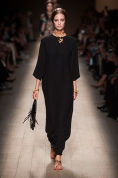 Valentino - choker and chain necklace