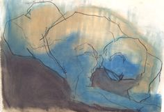 Face Down by Janey Hunt from the Exploring Life and Landscape exhibition at Harbour House, October 2017