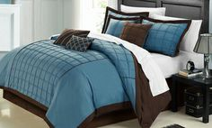 Groupon - Embroidered 8-Piece Comforter Set. Multiple Sizes from $ 74.99-$79.99. Free Returns. in Online Deal. Groupon deal price: $74.99