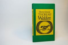 Henry David Thoreau; Walden; 1966; Peter Pauper Press; Vintage Book; Book Collection; Short Story; Hardcover