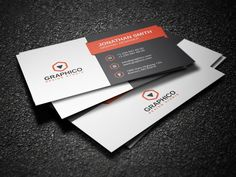 Creative Corporate Business Card 12 by nazdrag on Creative Market