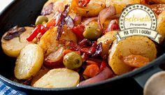 Patate al forno con verdure sfiziose