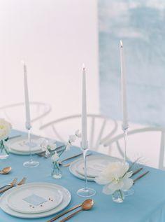 Modern Elegant Blue and Gray Wedding Ideas