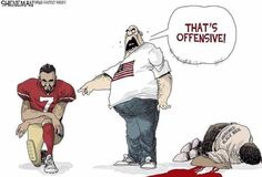 What's offensive by those not impacted by anti Black racism and state sanctioned murders. Caricatures, Don Winslow, Taking A Knee, Fight Club, Political Cartoons, Trump Cartoons, My People, Oppression, Black People