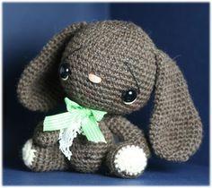AmigurumiHow to Crochetpdf PATTERN a BUNNY by Demonstrative4U, $8.00