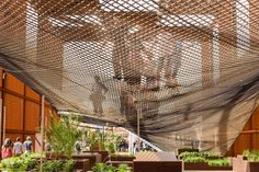 Brazil Pavilion At Expo Milano 2015 - Picture gallery Expo Milano 2015, Expo 2015, Brazil, Studio, Architecture, World, Gallery, Interiors, Street Furniture