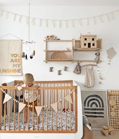 Loving this neutral nursery! Loving this neutral nursery! Baby Boy Nursery Room Ideas, Baby Bedroom, Baby Boy Rooms, Baby Room Decor, Baby Boy Nurseries, Girl Nursery, Girl Room, Kids Bedroom, Nursery Decor
